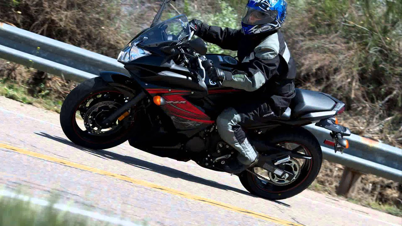 yamaha fz6r - YouTube