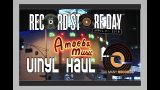 Record Store Day 2018 Vinyl Haul + Vlog at Amoeba Music