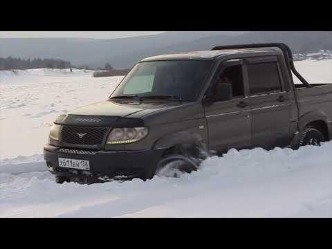Полный сток испытание УАЗ Патриот Пикап ( Минус Привод )
