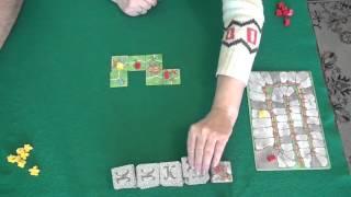 Каркассон-играем в настольную игру, board game Carcassonne(Вы - феодальный правитель одной из провинций средневековой Франции. Вам предстоит расширять свои владения,..., 2015-11-02T13:12:37.000Z)