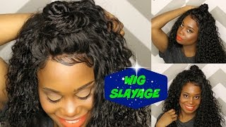 Peruvian Deep Wave Hair review from ViShine Hair   MissKenK