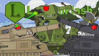 Мультики про танки Финальная битва КВ-44 против Ratte. LaimenFlash