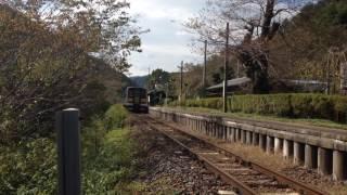 【水郡線】福島県矢祭町矢祭山駅付近