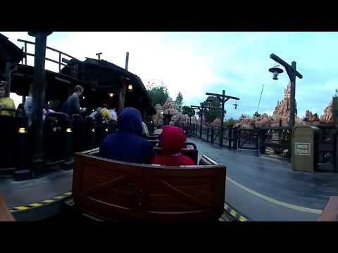 4K Big Thunder Mountain RR 360  / VR / Disneyland/ Disney360