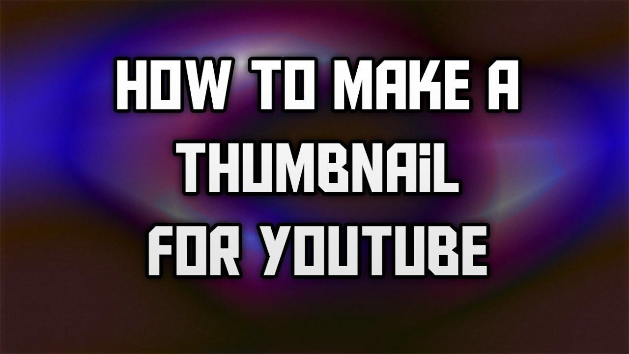 Make Thumbnails For Free
