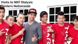 shawn lee rjvn loveyourkidneys campaign