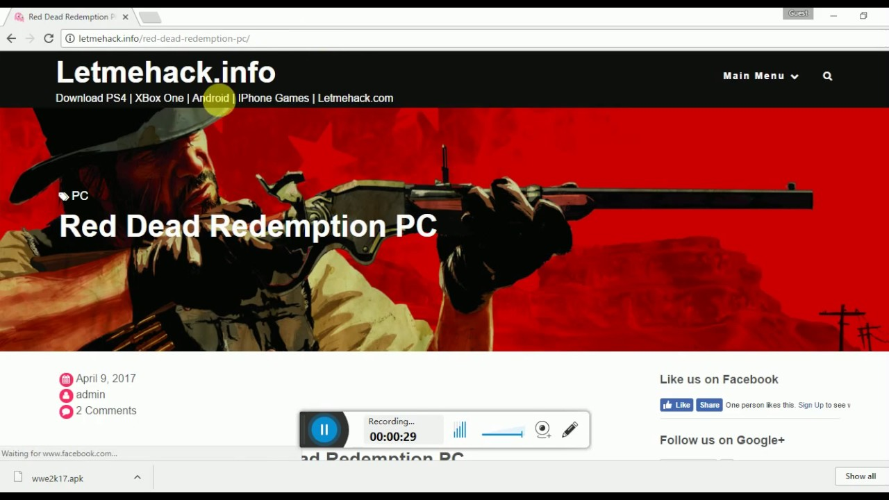 Red dead redemption | rpcs3 pc emulator | first gameplay youtube.