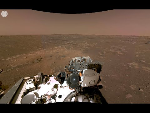 NASA'S Perseverance Rover's First 360 View of Mars (Official)