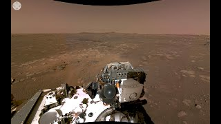 NASAS Perseverance Rovers First 360 View of Mars (Official)