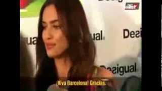 cristiano ronaldo girlfriend and Barcelona / صديقة كريستيانو رونالدو وبرشلونة
