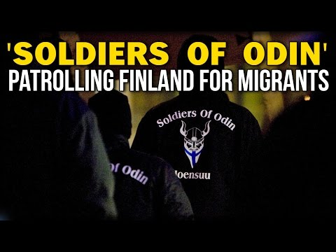 'SOLDIERS OF ODIN' PATROLLING FINLAND FOR MIGRANTS