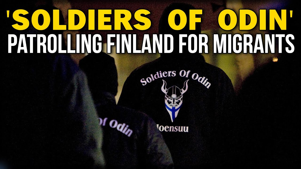 Soldiers Of Odin Patrolling Finland For Migrants Youtube