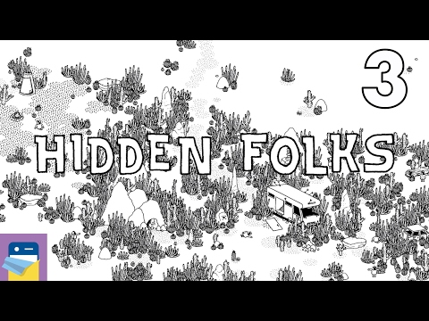 Hidden Folks: iOS iPad Air 2 Gameplay Walkthrough Part 3 (by Adriaan de Jongh)