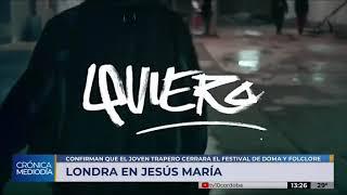 Paulo Londra confirma su show en el Festival de Jesús María