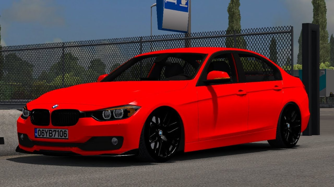 1 33 Euro Truck Simulator 2 Bmw 320i F30 Mods Youtube