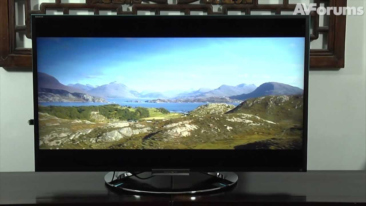 Sony W90 Kdl 40w905 3d Led Lcd Tv Review Youtube