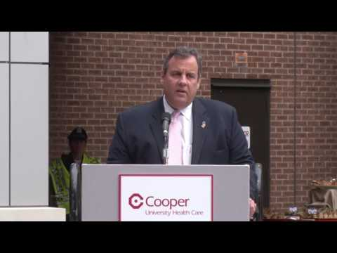 Gov. Christie: The Sheridans Helped Camden Become A Leader In Our State And Region