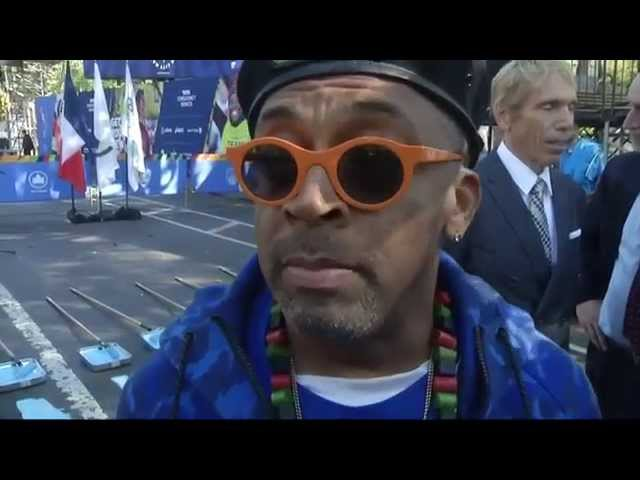 Kipsang and Spike Lee excited for New York Marathon