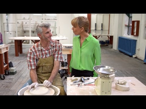Working with porcelain - The Great Pottery Throw Down: Episode 6 Preview - BBC Two