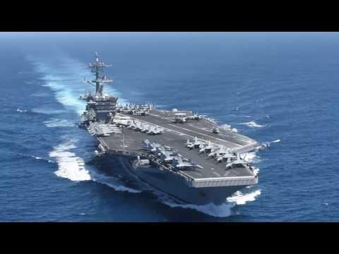 USS Theodore Roosevelt Underway in the Pacific