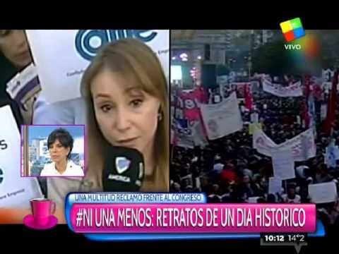 #NiUnaMenos: Retrato de un día histórico
