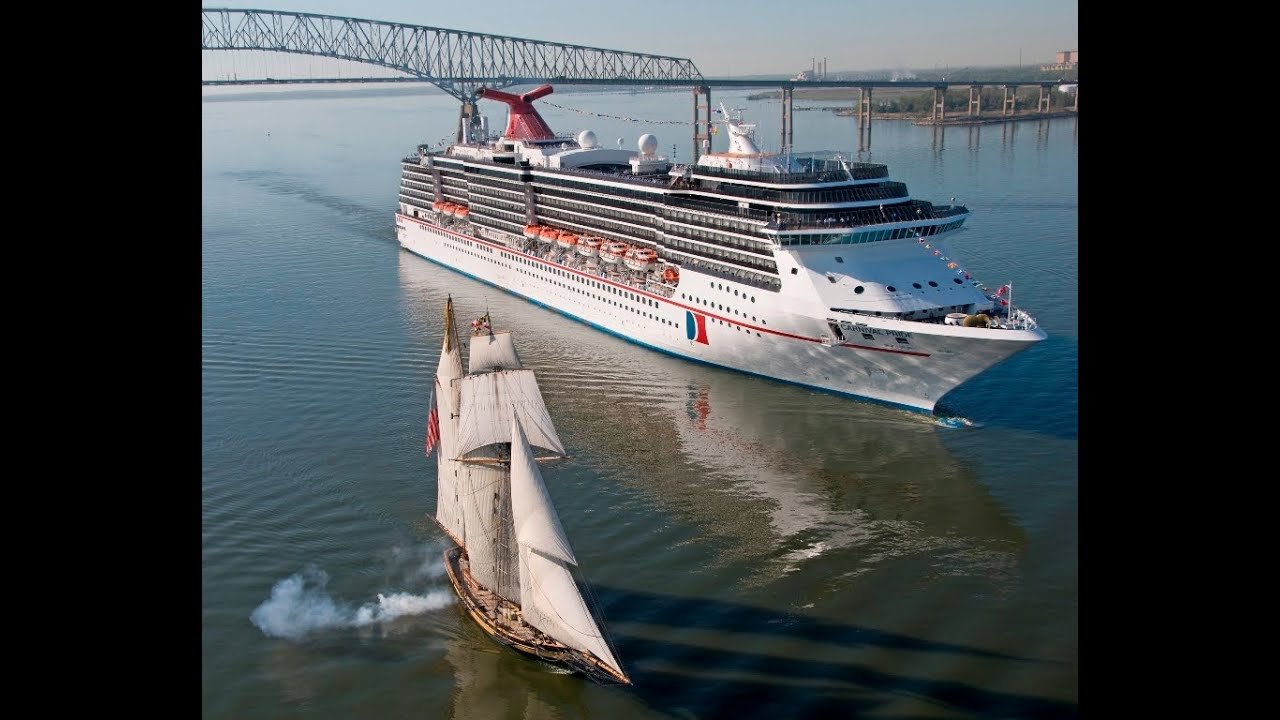 Cruising Carnival Pride YouTube - Cruise out of baltimore