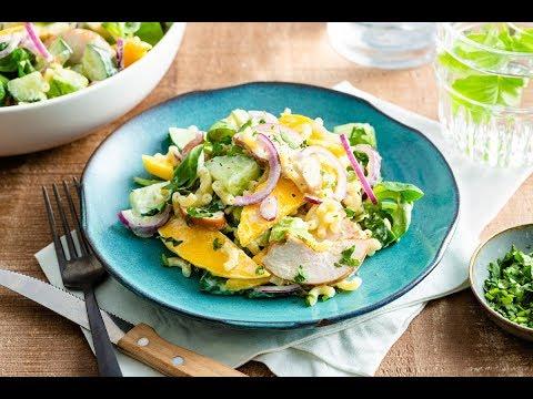 Onwijs Zomerse macaronisalade met gerookte kip en avocado | Variatietip VV-71