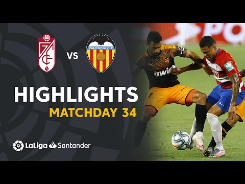 Highlights Granada CF vs Valencia CF (2-2)
