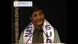 Kiran Bedi ji, was invited at Suryadatta National Award