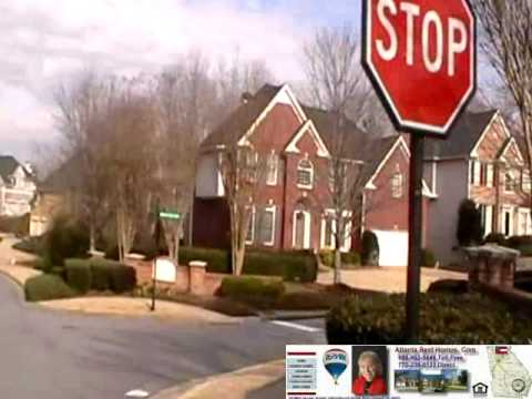 Edenwilde Subdivision Roswell GA - Drive Through Video Tour