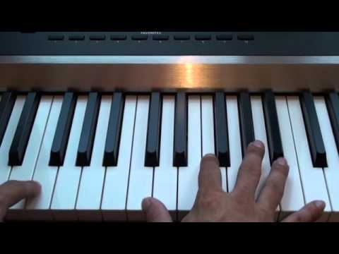 How To Play All Of Me On Piano John Legend Piano Tutorial Youtube