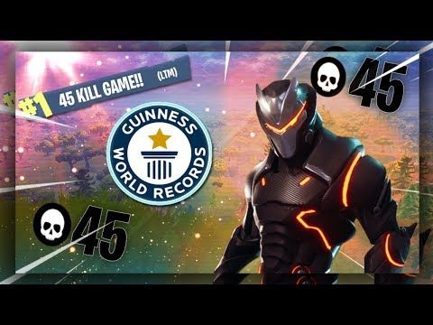 INSANE 45 KILL GAME in 20v20! LTM World Record!