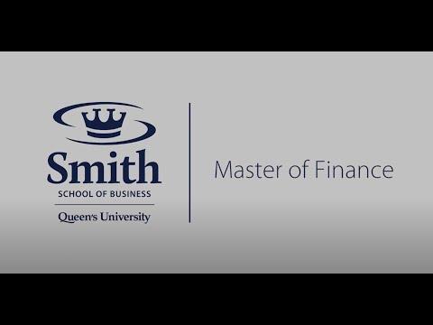 Queen's Master of Finance – Toronto