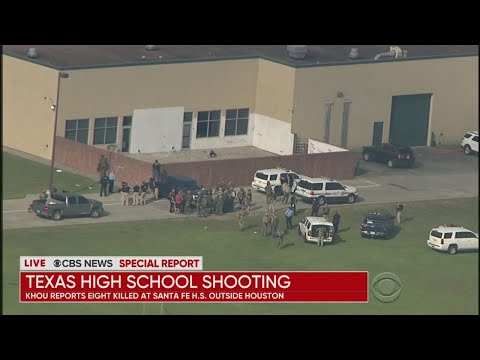 CBS News Special Report: Deadly School Shooting In Texas