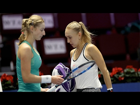 2017 St. Petersburg Ladies Trophy First Round | Elena Vesnina vs Ekaterina Makarova | WTA Highlights