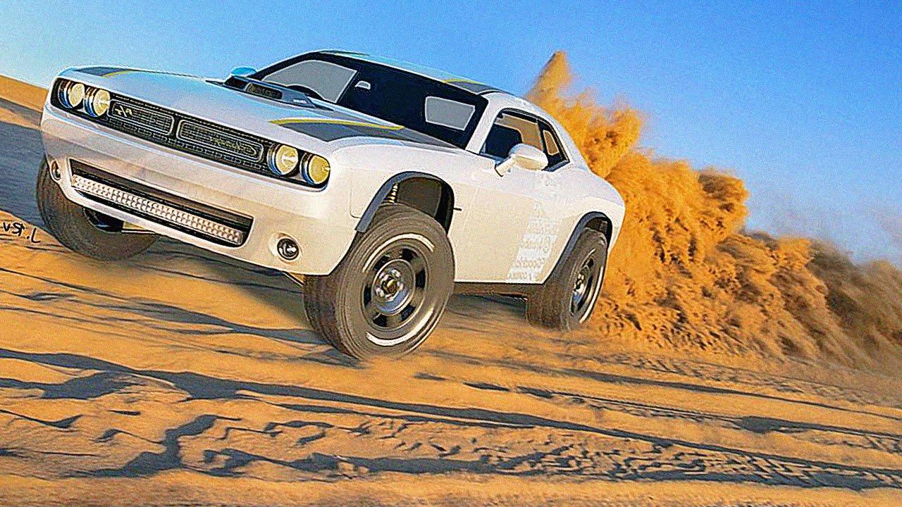 Dodge Challenger A T Untamed Concept Offroad Challenger