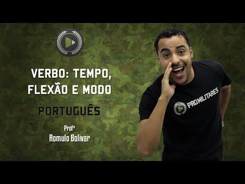 Verbo: Tempo, Flexão e Modo - Português