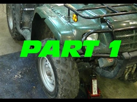 How To Replace The Front Wheel Bearings On Your ATV - PART 1