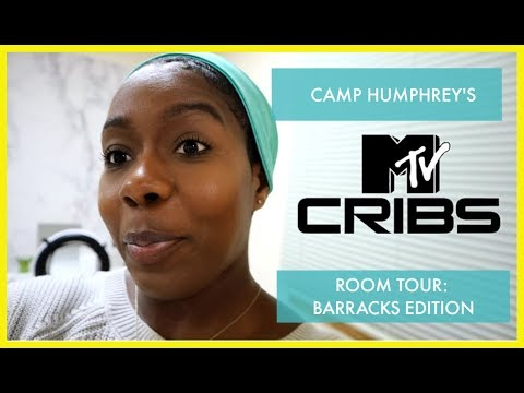 Room Tour - Camp Humphrey's Barracks |South Korea Vlogs| #LIBBUARY