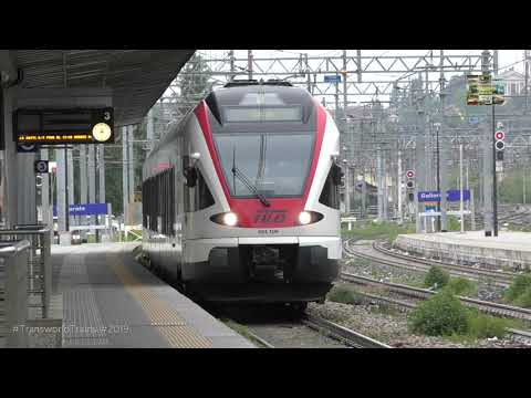 Trains In Gallarate Italy