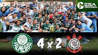 PALMEIRAS 4 x 2 CORINTHIANS   Verdão BICAMPEÃO Paulista sub 20
