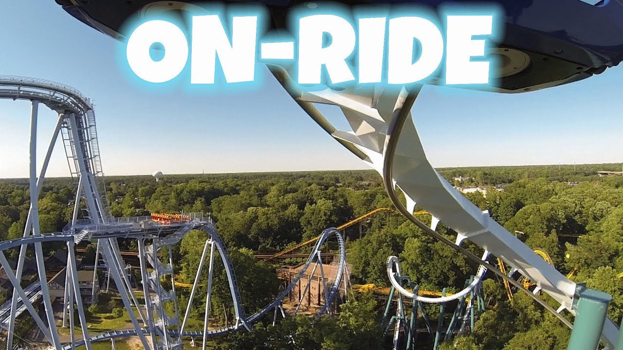 Alpengeist on ride front seat hd pov busch gardens - Roller coasters at busch gardens ...