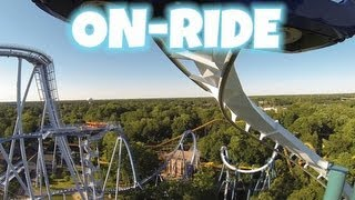 Alpengeist On-ride Front Seat (HD POV) Busch Gardens Williamsburg