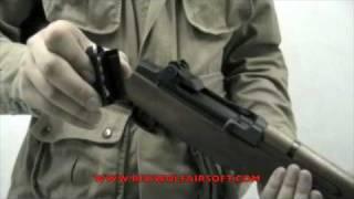 Marushin M1 Garand Video Review - RedWolf Airsoft - RWTV