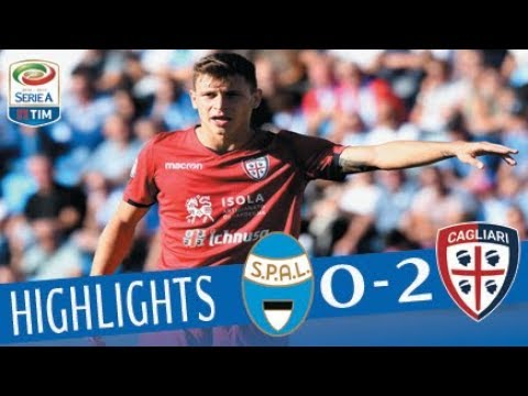 Spal - Cagliari - 0-2 - Highlights - Giornata 4 - Serie A TIM 2017/18