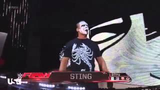 Sting Return To WWE Monday Night Raw