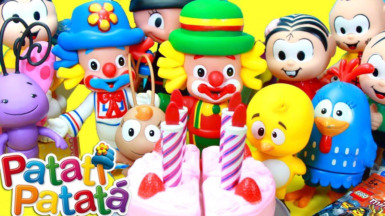 Parabéns Pra Você: Feliz Aniversario Patati Patatá Parabéns Pra Voce Festa