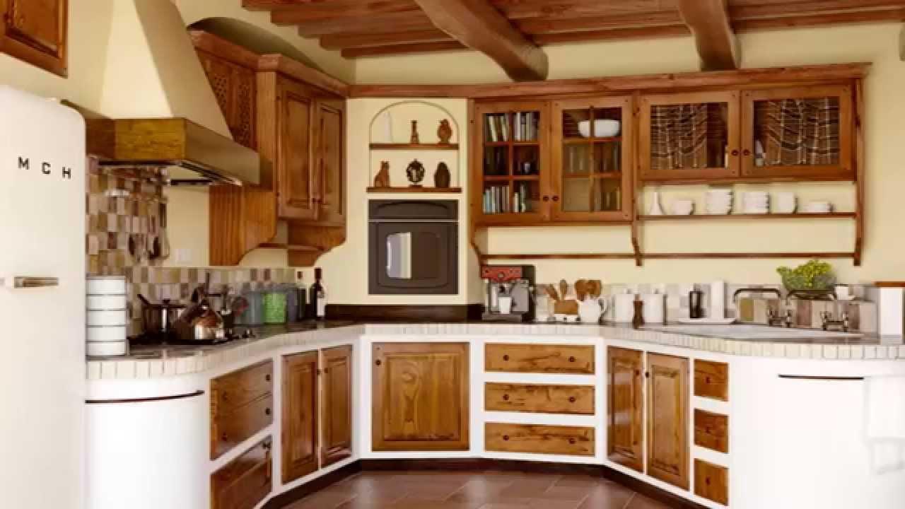 Country Kitchen Interior Render Mental