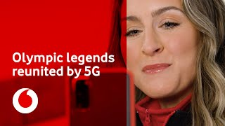 British Winter Olympic legends reunited by the power of 5G | Vodafone UK