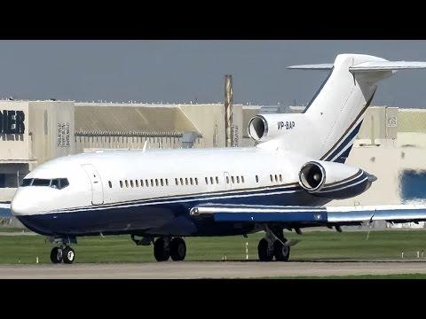 Private (VIP) 727-100 (B721) landing & departing Montreal (YUL/CYUL)